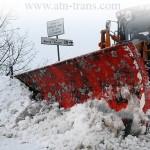 Снег осложнил дорожную обстановку в Европе
