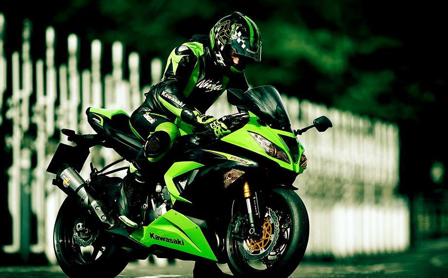 Фото мотоцикла кавасаки ниндзя