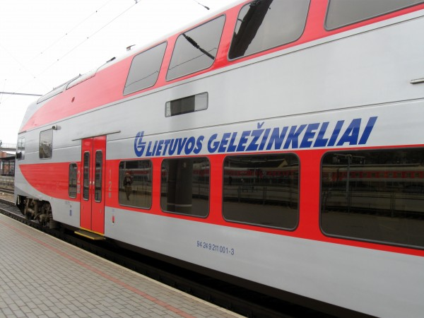 Lietuvos gelezinkeliai будут доставлять посылки из Китая