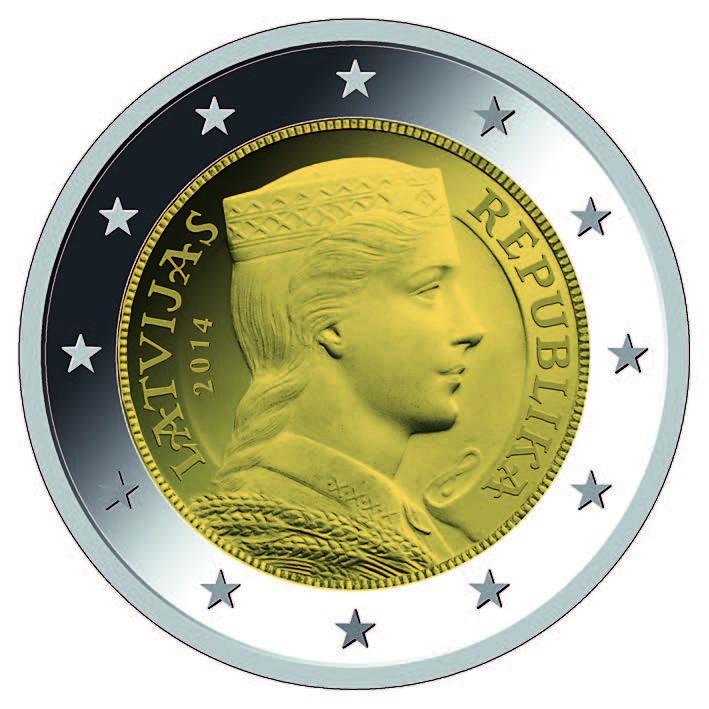 Латвия перешла к евро