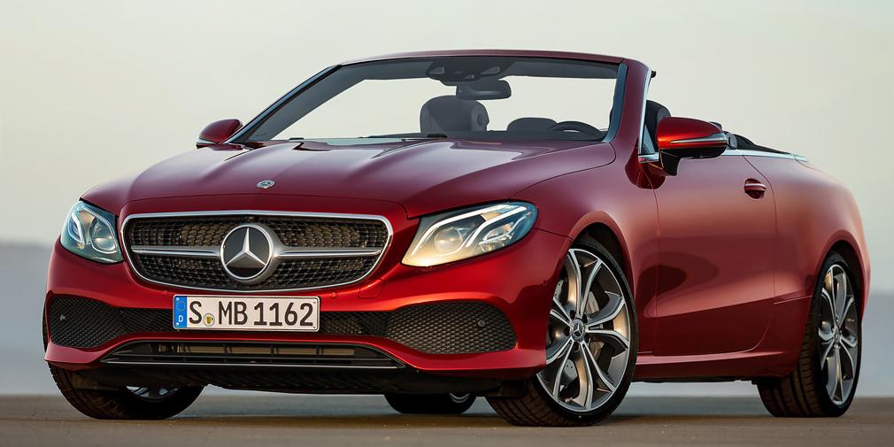 Новый кабриолет от Mercedes-Benz покажут в Женеве