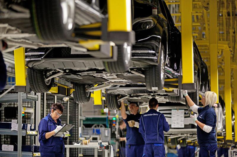 Daimler открыл завод в Венгрии