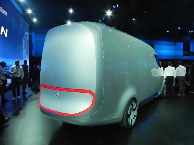 Mercedes-Benz представил Vision Van
