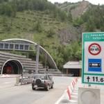 Ограничения движения в тоннелях Мон Блан и Фрежус