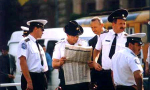 Дорожная полиция Молдавии