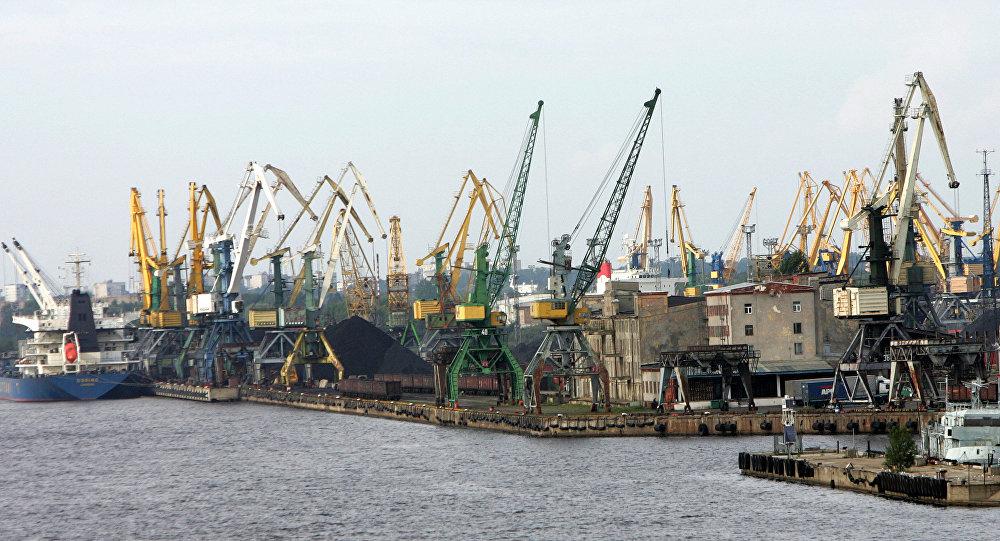 Порт Рига, Латвия