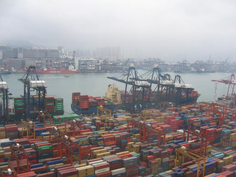 Порты Китая в январе