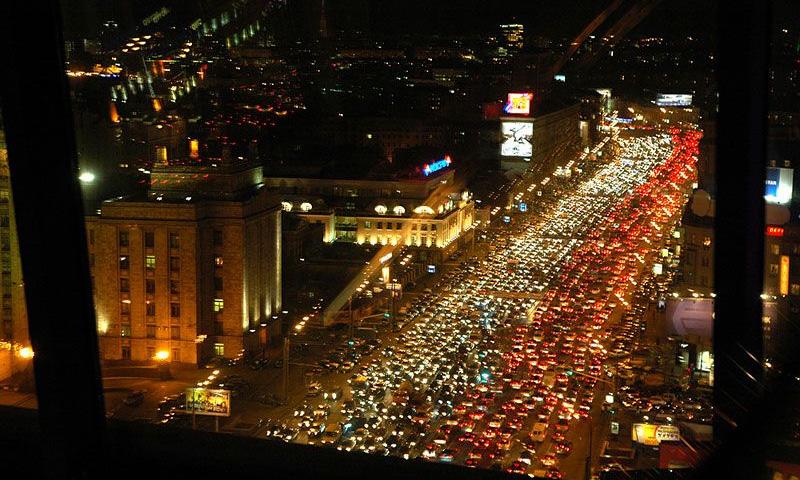 Московские дороги испытывают стресс