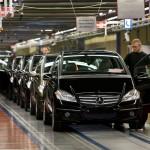 Спад продаж автомобилей в Германии в 2013 году