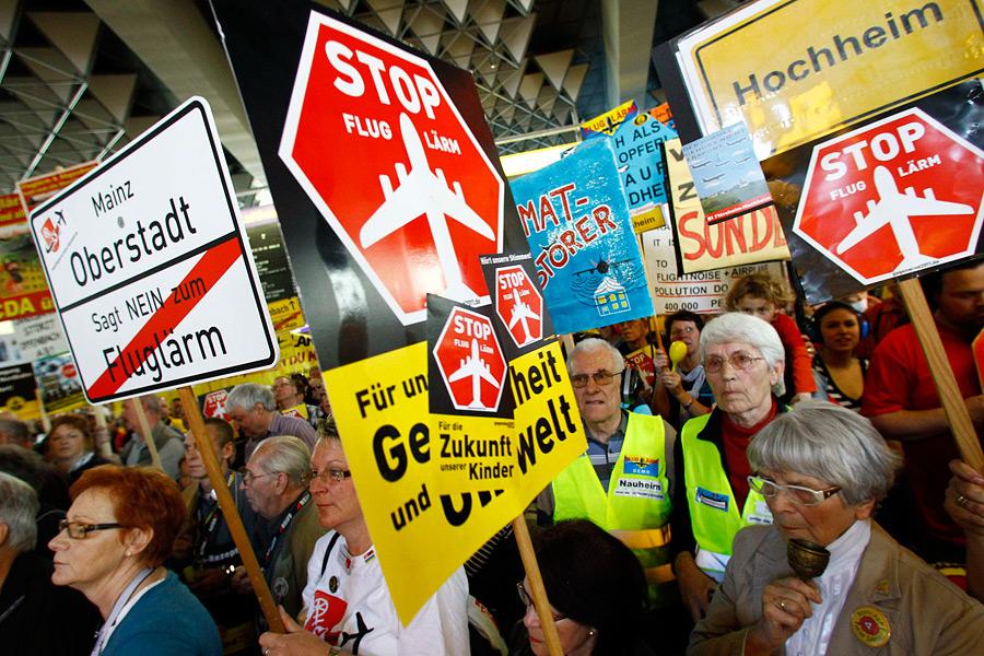 Протесты против шума в Германии