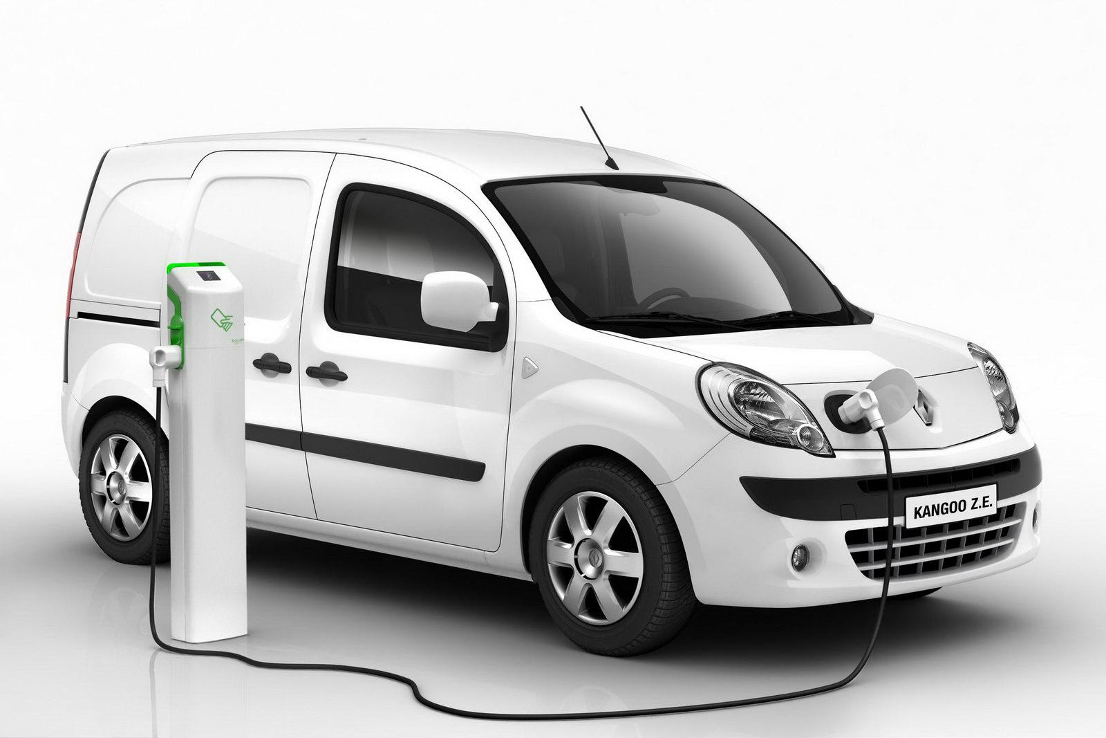 Renault Kangoo Z.E. выходит на рынок с новинкой