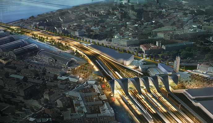 Riga starts two projects under Rail Baltica