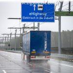 Электрическое высокоскоростное шоссе для большегрузного транспорта