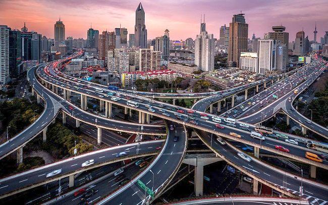 Сложнейшая транспортная развилка в Азии