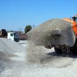 Применение щебня и песка в ландшафтных работах и не только.