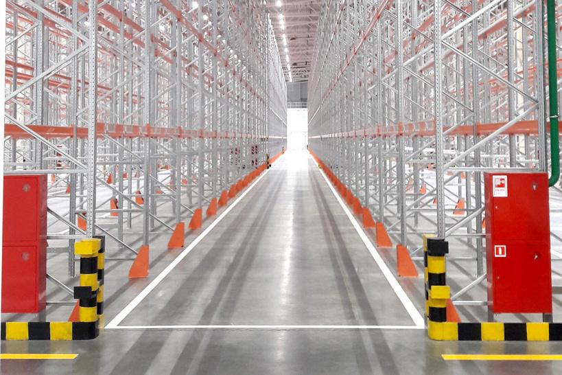 В Подмосковье введен в эксплуатацию самый высокий Highbay-склад в Европе