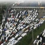 Забастовка перевозчиков в Италии