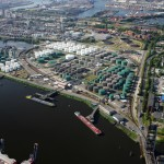 Порт Гамбург с положительным оборотом