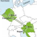 Пилотный поезд между Австрией и Германией