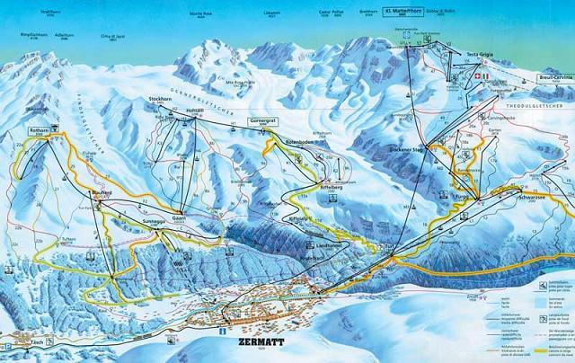Горнолыжный курорт Церматт, Швейцария